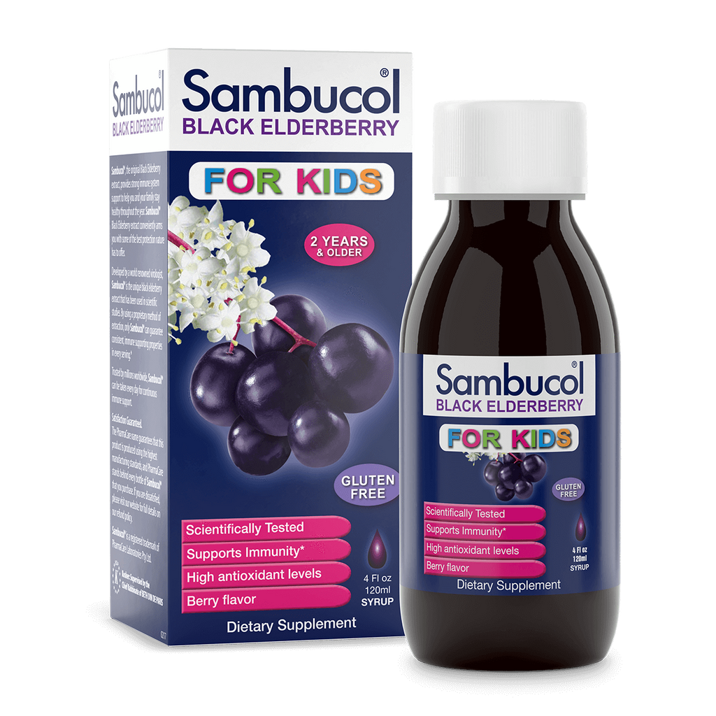 Sambucol Elderberry Syrup for Kids 4oz