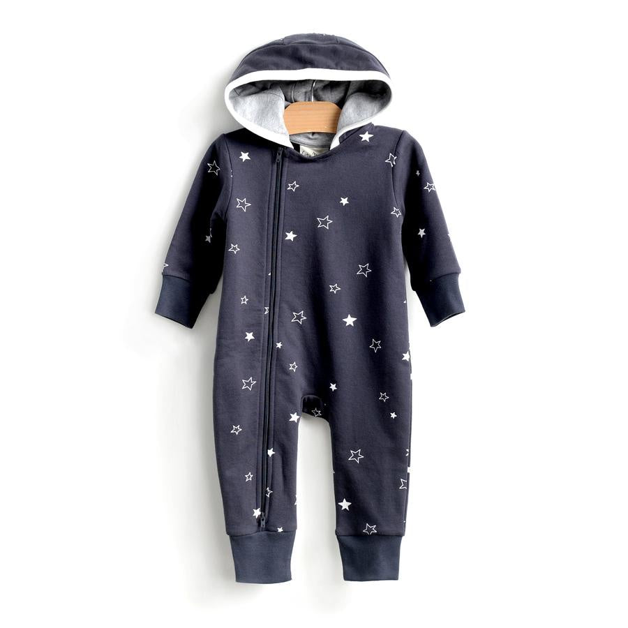 City Mouse - Stars Moto Romper