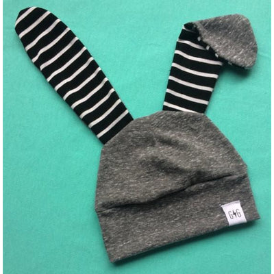 Goose and Gosling Knit Bunny Hat