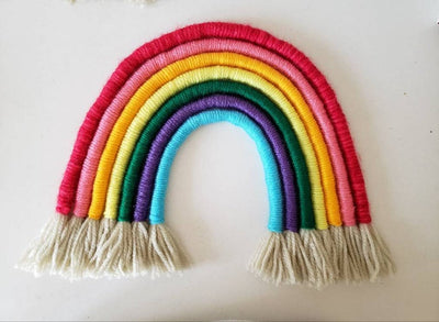 Rainbow Woven Wall Hangings