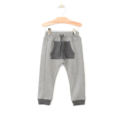 City Mouse - Sporty Pocket Pant - Iron Melange