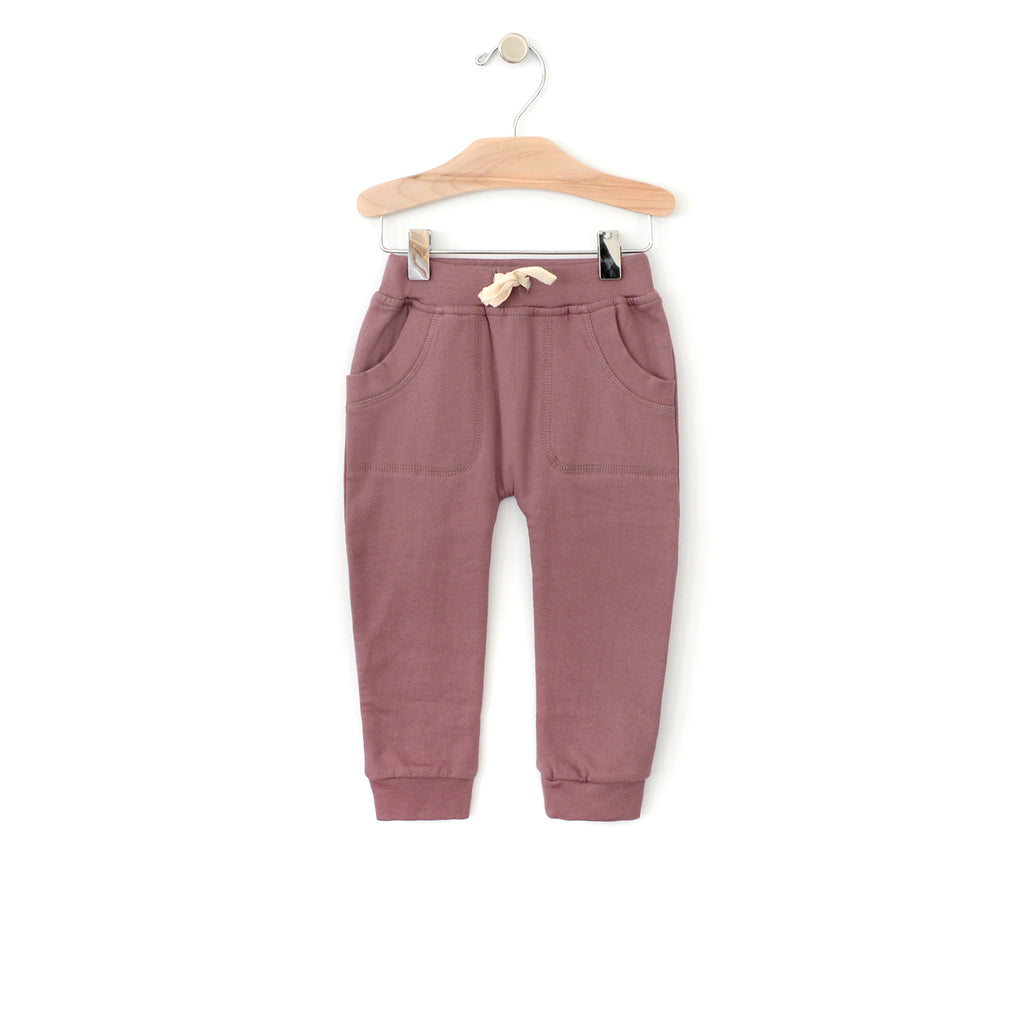 City Mouse - Patch Pocket Pant - Orchid