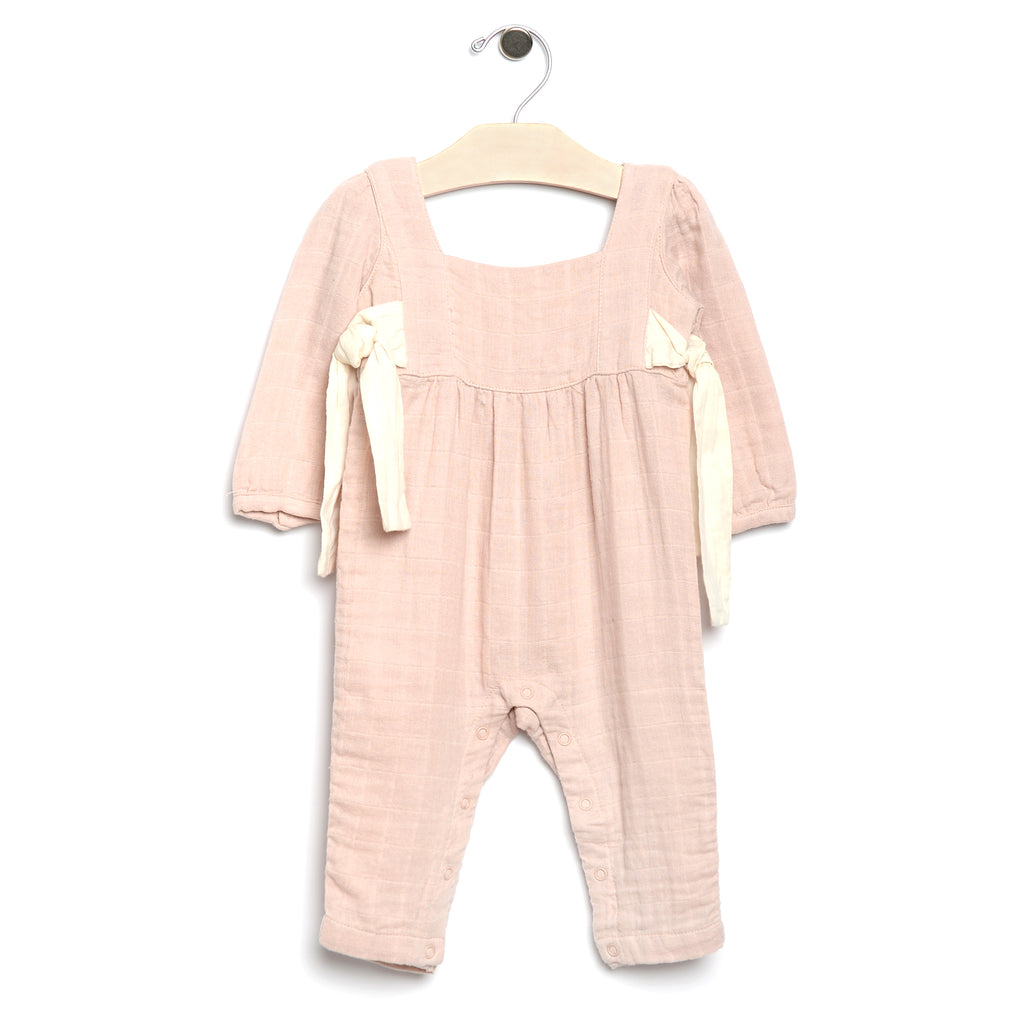 City Mouse - Muslin Side Ties Romper