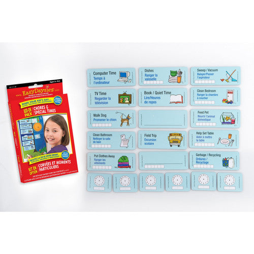 Easy Daysies Chores & Clocks Add-On Pack