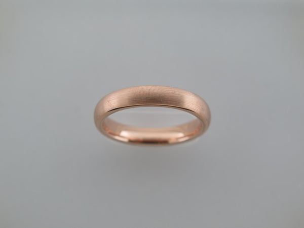4mm BRUSHED Rose Gold* Tungsten Carbide Unisex Band