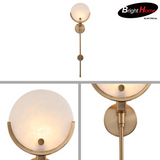 New Modern Nordic Style Metal Plating Antique Copper Wall Lighting BHP6726WA