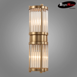 Metal Plating Antique Copper and Glass Wall Sconces Wall Lighting BHP6717WA