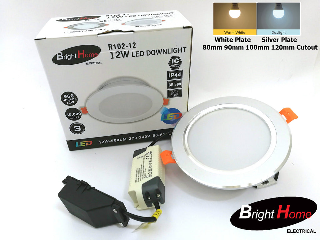 Recessed Down Lights R102-12 120cutout 145diameter