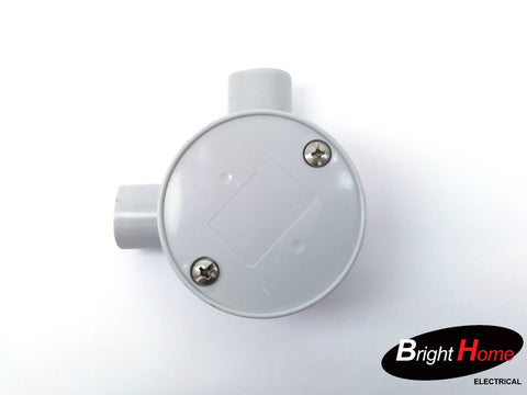 Round Junction Box 20mm 1-4 way selection