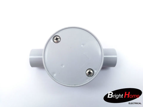 Round Junction Box 25mm 1-4 way selection