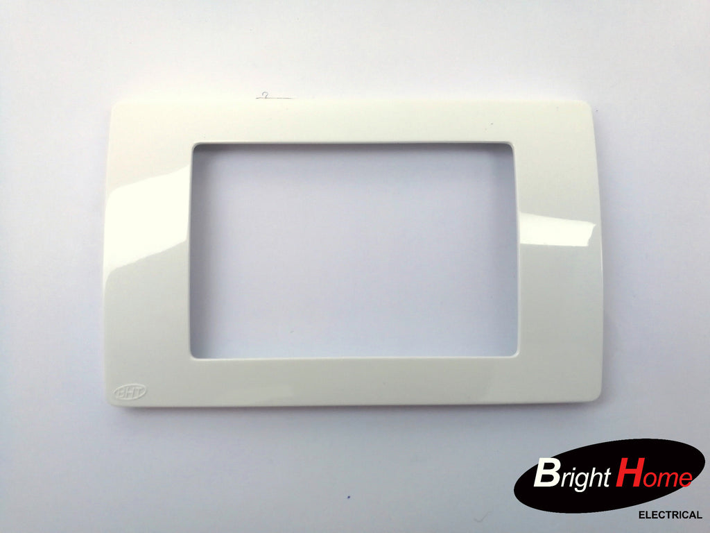Switch Cover, white, Tcover-W, Titan series