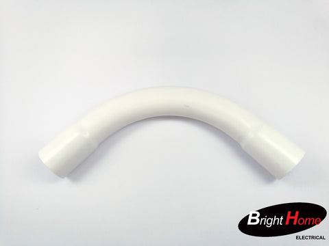 TEL bend White for tel conduit use