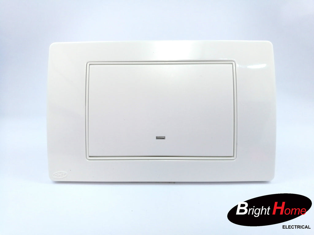 1 Gang Switch, white, TWS1-W, Titan series