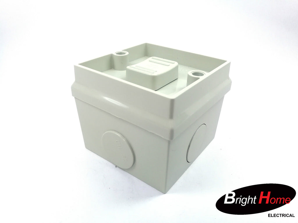 Single Water-proof Switch 16a IP56 WPSH1