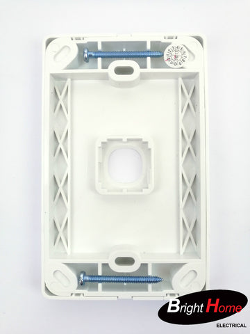 WS1LM-W 1 Gang Switch Panel White