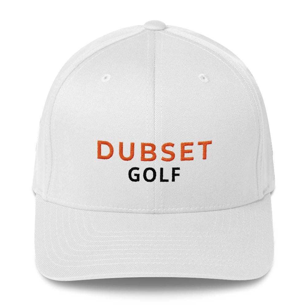 Dubset Golf White Cap