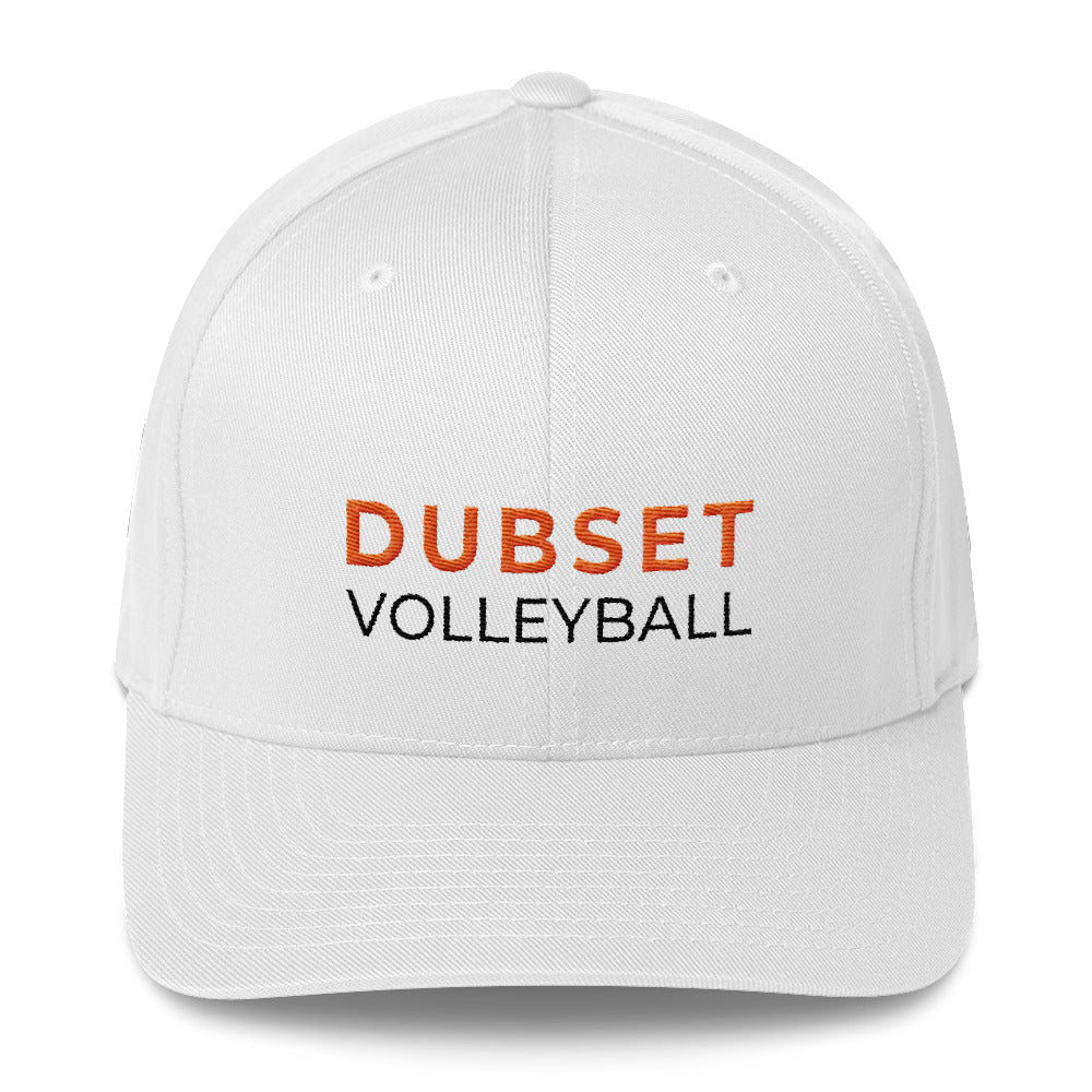 Dubset Volleyball  White Cap