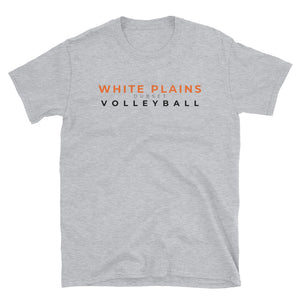 White Plains Volleyball Short-Sleeve Grey T-Shirt