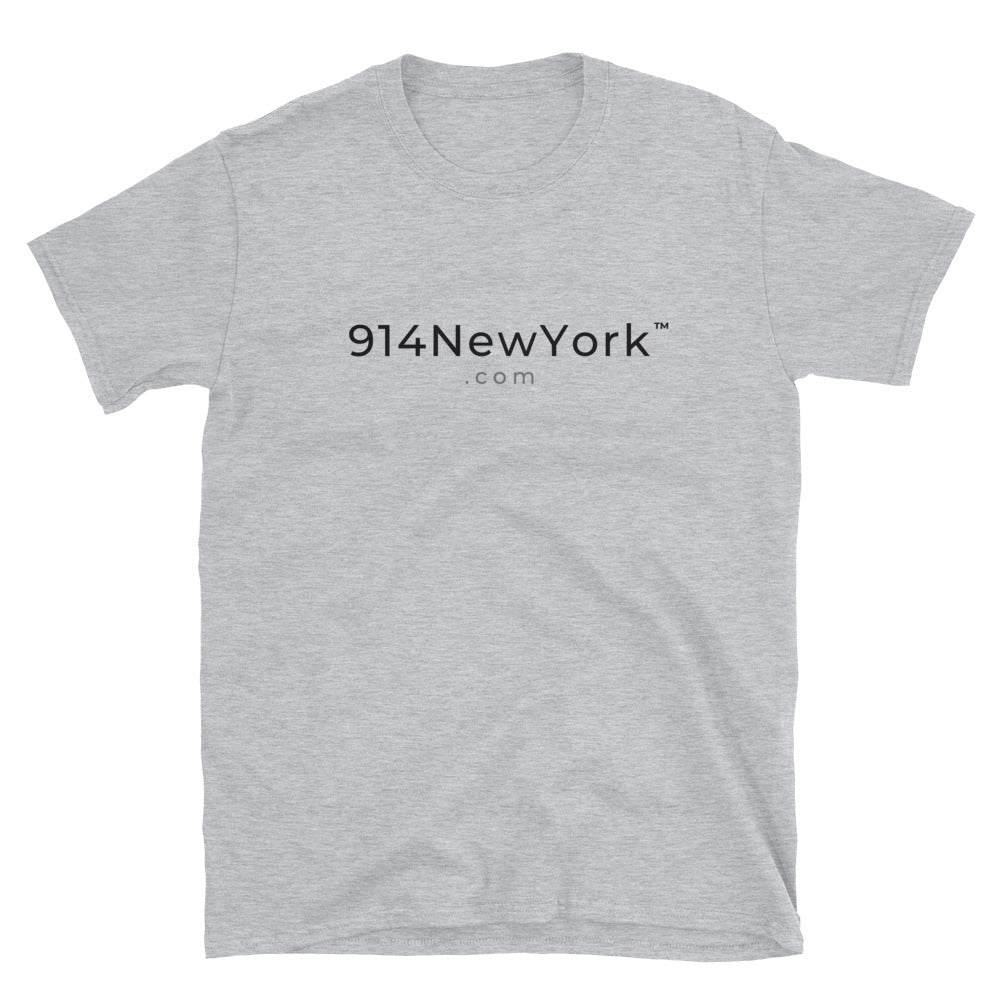 914 New York Short-Sleeve Grey T-Shirt