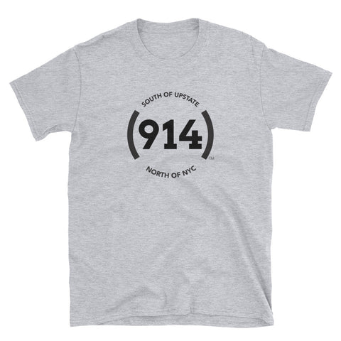 (914) Logo Short-Sleeve Grey T-Shirt