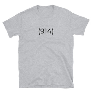 (914) Short-Sleeve Grey T-Shirt