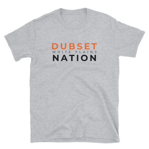 Dubset Nation Short-Sleeve Grey T-Shirt