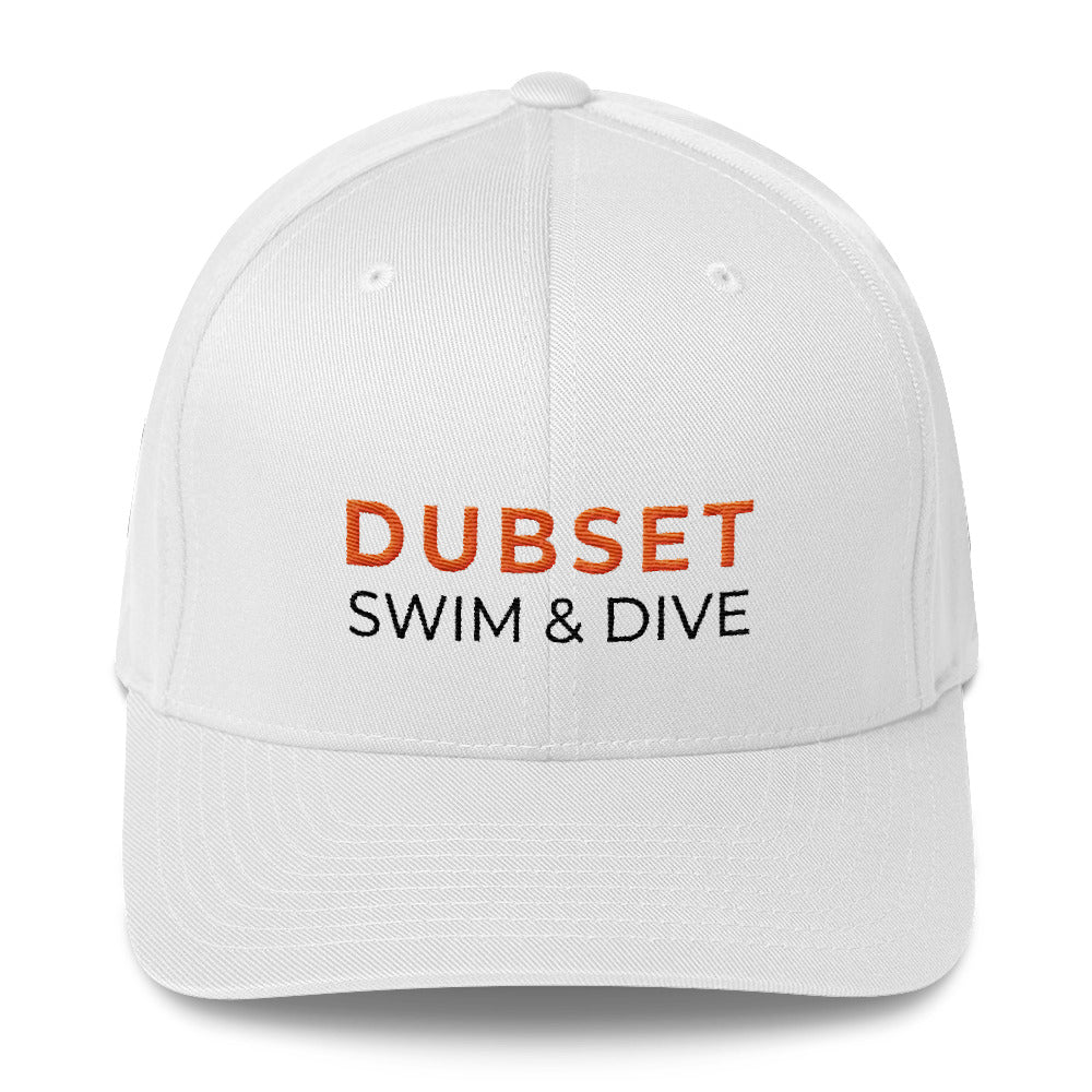 Dubset Swim & Dive White Cap