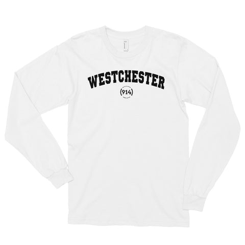 Signature Westchester White Long Sleeve T-Shirt