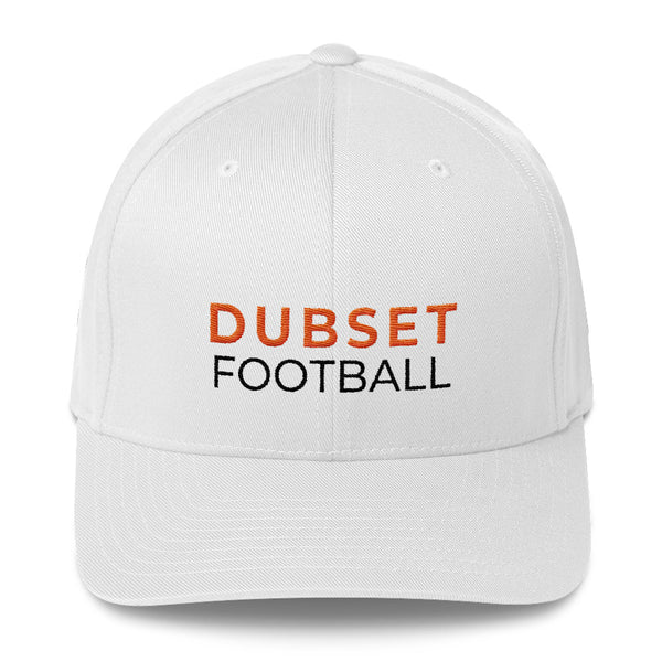 Dubset Football White Cap