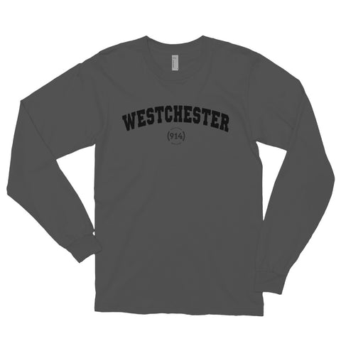 Signature Westchester Grey Long Sleeve T-Shirt