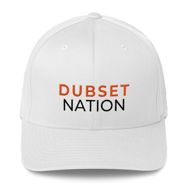 Dubset Nation White Cap
