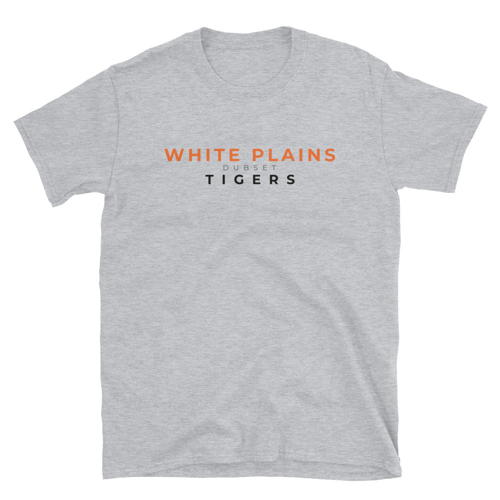 White Plains Tigers Short-Sleeve Grey T-Shirt