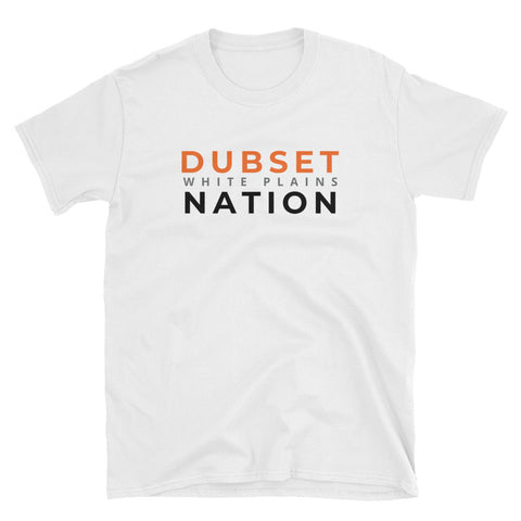 Dubset Nation Short-Sleeve White T-Shirt