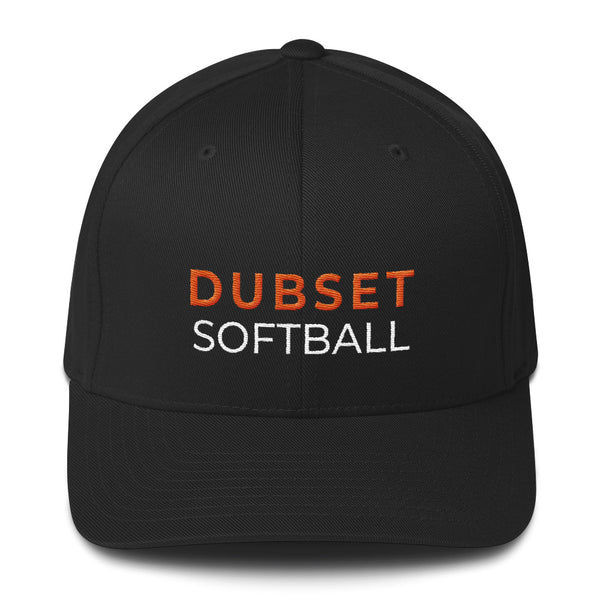 Dubset Softball Black Cap