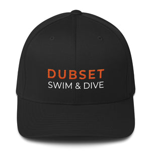 Dubset Swim & Dive Black Cap