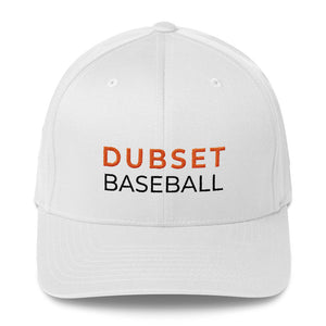 Dubset Baseball Structured White Cap