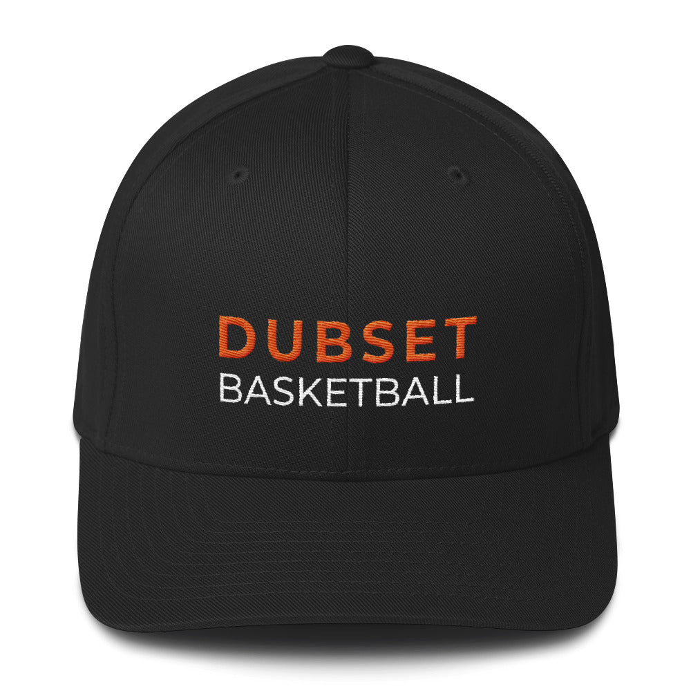 Dubset Basketball Black Cap