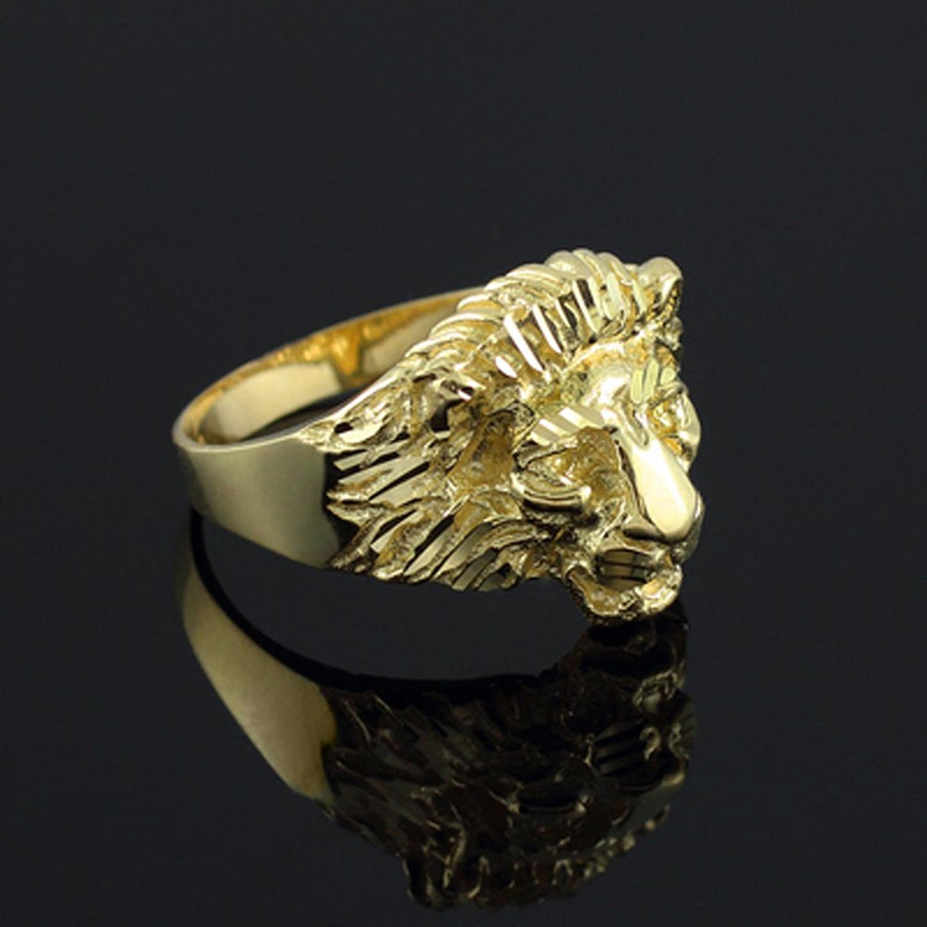 Gold Lion Rings