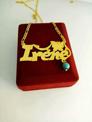 Custom  24K Gold Plated Hand Made Name, Logo, Slogan Chains, Pendants, Necklaces, and Medals