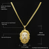Image of Lion Head Pendant specs