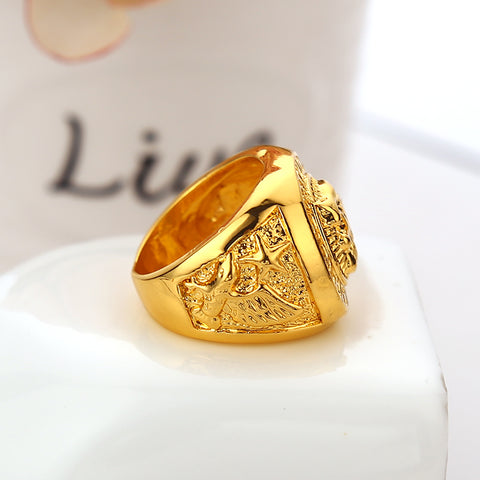 Gold Lion Ring - LA Gold Cartel