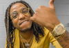 Image of Huncho Glasses with Clear Lense - LA Gold Cartel