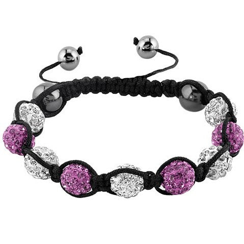 Micro Pave Crystal Ball Bracelet in All colors - LA Gold Cartel