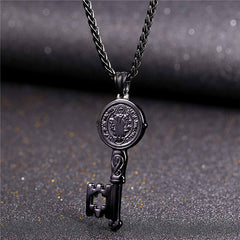 Key To the Streets Pendant & Chain