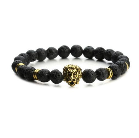 Free Lion Bead Bracelet - LA Gold Cartel