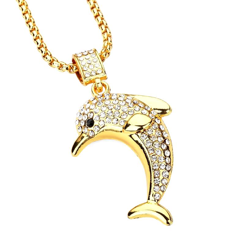 Iced out dolphin pendant chain la gold cartel iced out dolphin pendant chain aloadofball Gallery