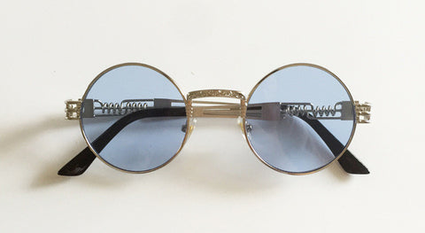 Gold ASAP Rounded Glasses