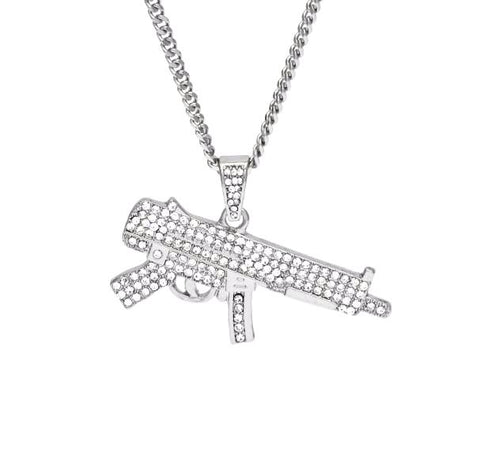 Iced Out Mp5 Chain