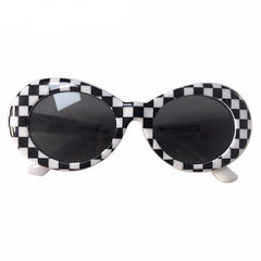Checkered Cobain Glasses - LA Gold Cartel