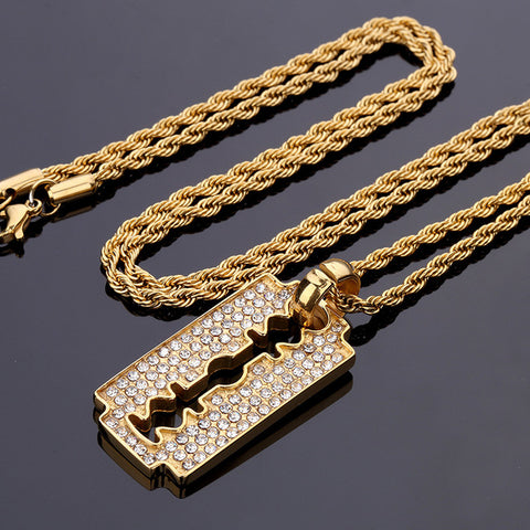Iced out Razor - LA Gold Cartel